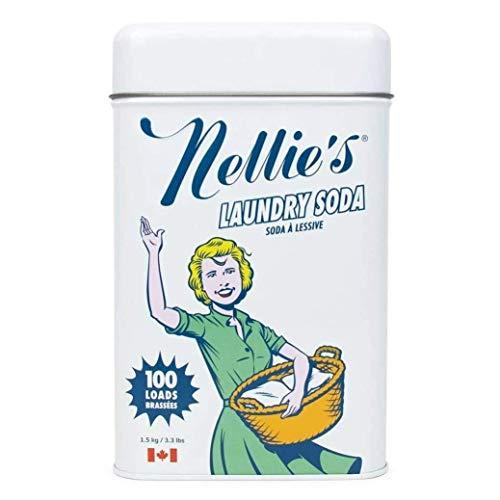 Nellie's ネリーズランドリーソーダ缶 1.5kg 1缶 粉末 衣料用洗剤 ビーブリッジ