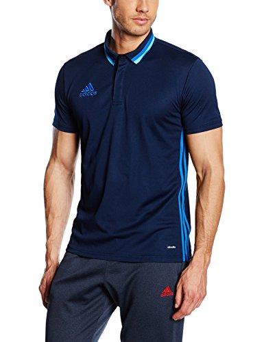adidas Condivo 16 CL Poloshirt Polo, Hombre, Maruni/Azul, XS