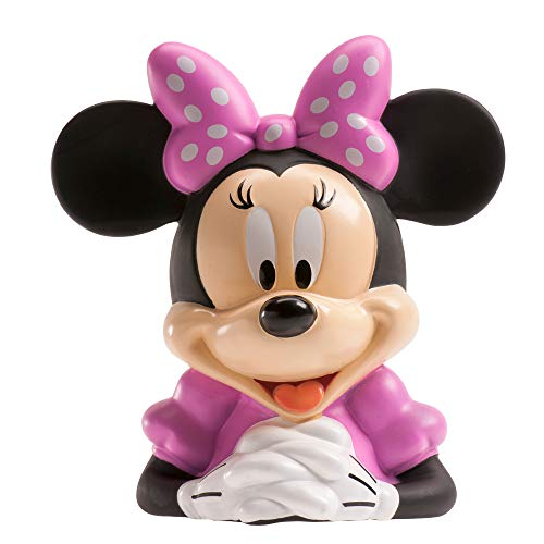 Dekora Hucha Infantil de Minnie Mouse con Billetes de Oblea Color rojo 204010