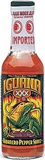 Iguana XXX Habanero Pepper Sauce, 5-Ounce Bottles (Pack of 6)