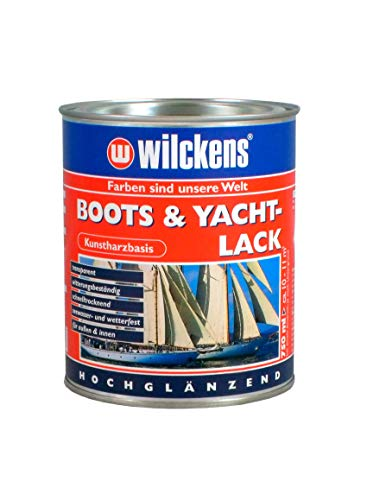 Wilckens Boots & Yachtlack 750 ml Bootslack Lack Kunstharz-Klarlack Yachtlack Kunstharzlack