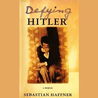 Defying Hitler audiobook cover art