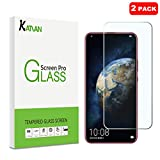 [2 Pack] KATIAN Compatible with Huawei Honor Magic2 Screen Protector, KATIAN HD Clear Protector [Anti-Scratch] [No-Bubble] [Case-Friendly], 9H Hardness Tempered Glass Film for Huawei Honor Magic 2