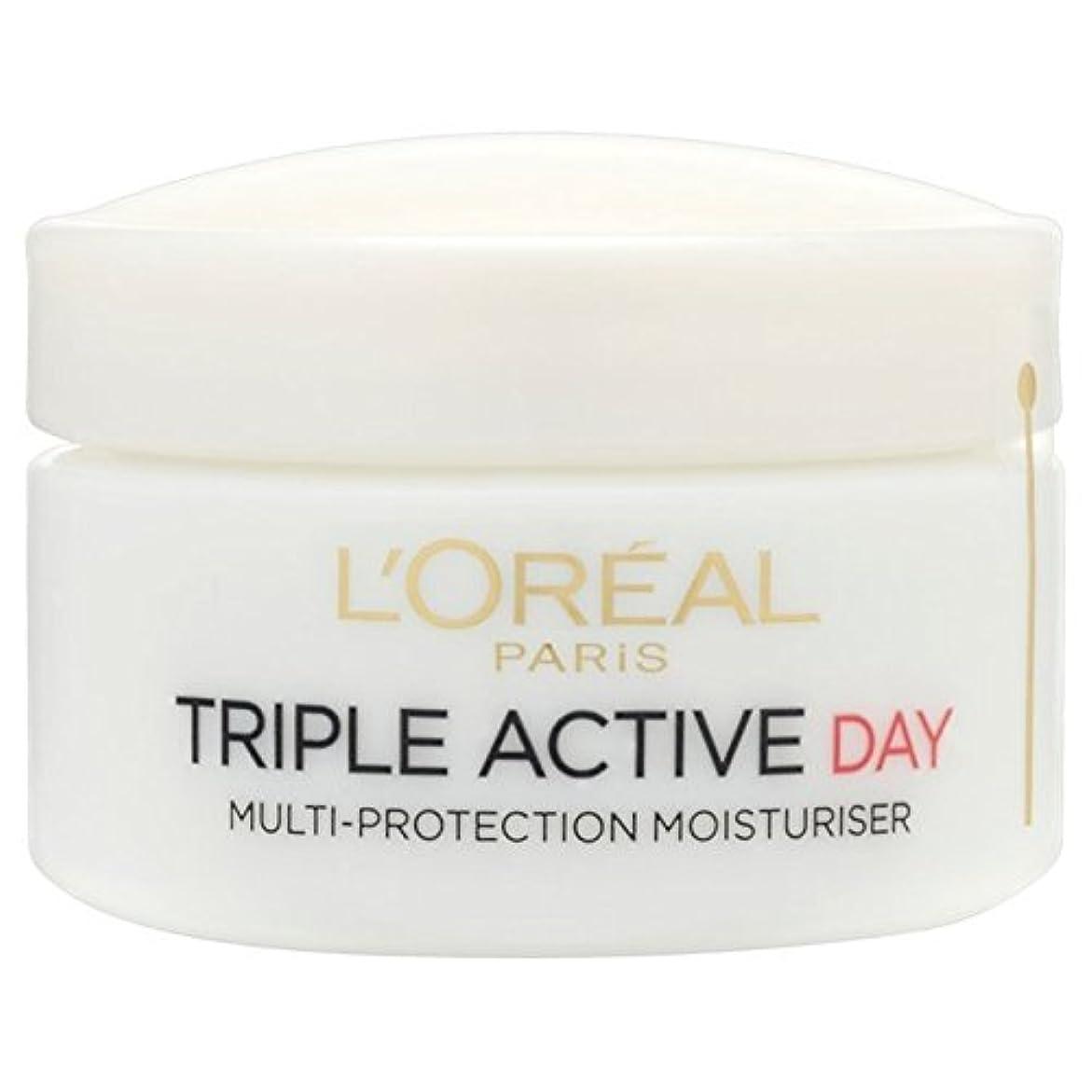ロイヤリティ十一リゾートL'Oreal Triple Active Day Pot Dry / Sensitive 50ml - ロレアルトリプルアクティブな一日ポットドライ/敏感50ミリリットル [並行輸入品]