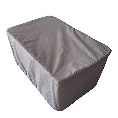 FCZBHT Couverture de Meubles Gris De Plein Air Jardin Table Et Chaise Imperméable/Housse De Protection, Disponible Toute L'année Garde poussière (Couleur : Gray, Taille : 250 * 250 * 90cm)
