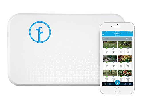 Rachio 8ZULW-B-OB Smart Sprinkler Controller, 8 Zone 2nd Generation, New Open Box, White