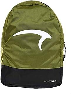 Mintra Polyester Top-Zip Adjustable Shoulder Strap Unisex Backpack
