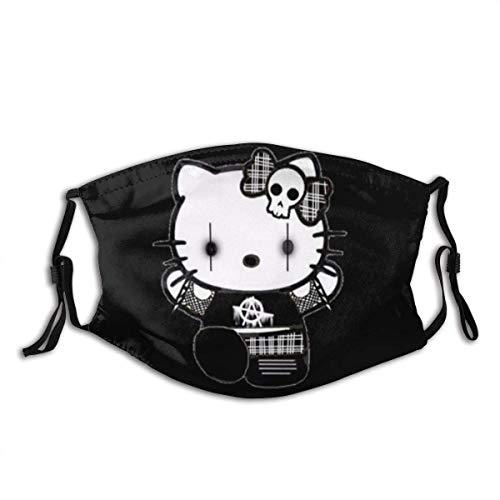 Unisex Hello Kitty Adult Face Cover Reusable Face Mask Dust Mask for Women & Men Balaclavas