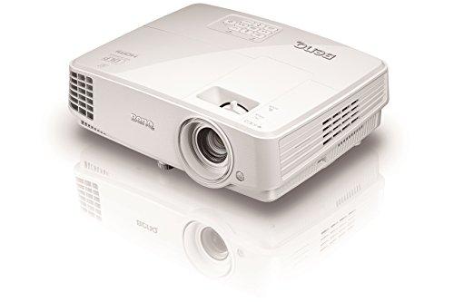 BenQ MH530 FULL HD 3D DLP-Projektor (Beamer mit 1920 x 1080 Pixel, Kontrast 10000:1, 3200 ANSI Lumen, HDMI, VGA) weiß