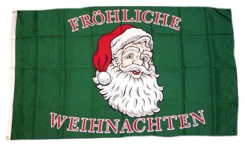 Fahne/Flagge Fröhliche Weihnachten 90 x 150 cm