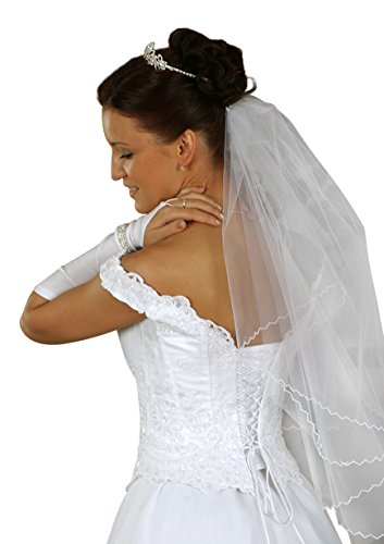 Brautkleid Dajana mit Schleppe, weiß, inkl. Maßanfertigung - 3