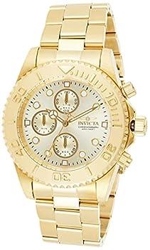 Invicta Pro Diver Men s Wrist Watch Stainless Steel Quartz Champagne Dial - 1774