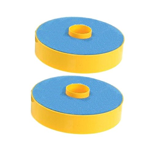 SHP-ZONE 2 Primary Washable Blue Foam Filters for Dyson DC07 Carpet Vacuum Cleaner, Generic for Dyson Part 904979-02. 2 Pack