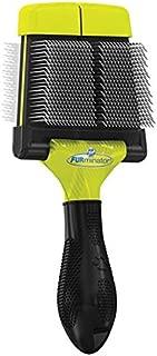FURminator Firm Grooming Slicker Brush for Clean Healthy Coats
