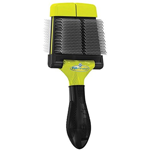 FURminator Firm Grooming Slicker Brush, Dog, Small