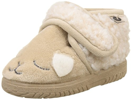 Victoria Bota Velcro Animales, Botas Slouch Unisex Niños, Beige...