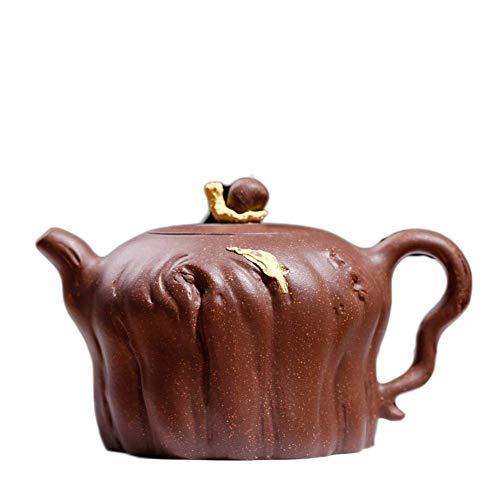 MYERZI Heat-Resistant teapot ore Walk Through The Old Section of The mud Snail Life Maker Tea Maker Ergonomic Grip