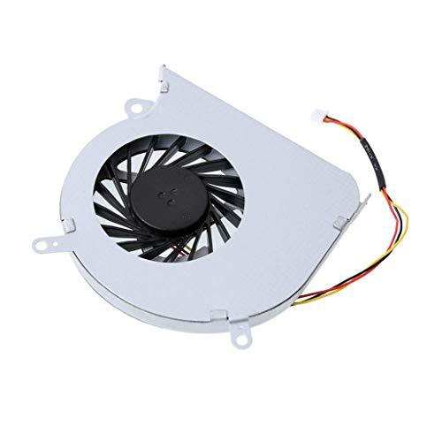 #N/A/a Ventilador de Refrigeración de La CPU de La PC del Ordenador Portátil del Refrigerador del Metal para MSI GE60 MS-16GA MS-16GC N284