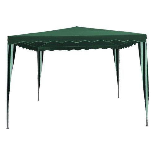 Amicasa. Gazebo 2x3 Metri Top in Poliammide 160 gr Verde/Bianco