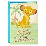 Hallmark First Birthday Card for a Boy (Lion King) - 399RZB2219