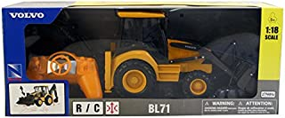 New Ray 87913A Radio Controlled Volvo BL71 Backhoe Loader