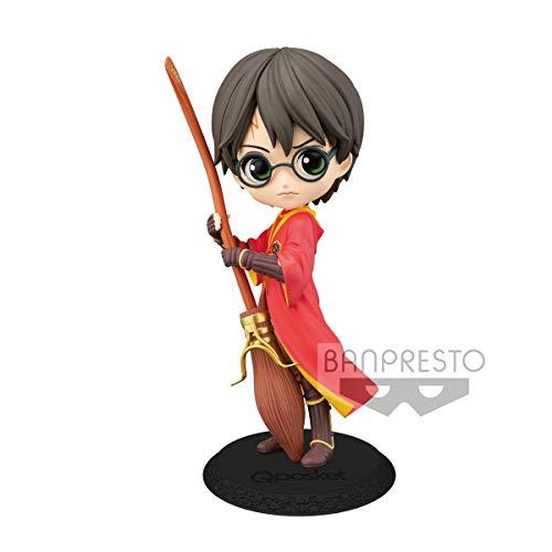 Banpresto - Figurine Harry Potter - Harry Potter Quidditch Variant Color Q Posket 14cm - 4983164199697