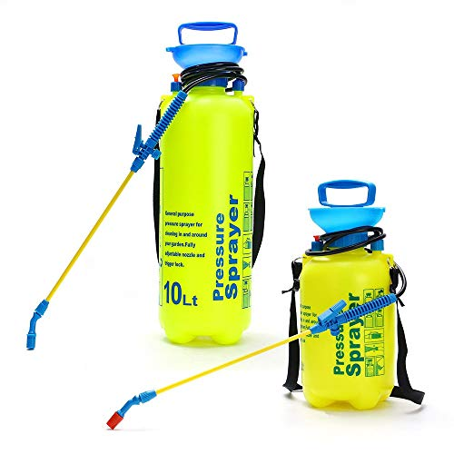 QiHaoHeji Plant Water Spray 5L Spray Pompfles Stick Handheld Douche Waterslang Tuin Luchtdruk Sprayer Watering voor etherische olie Water