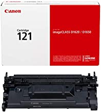 Canon Genuine Toner Cartridge 121 Black (3252C001),...