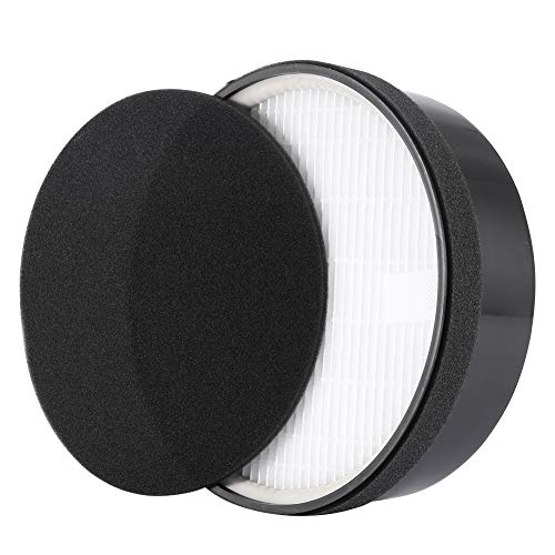Pongnas Filter Replacement, Compatible with LEVOIT LV-H132 Air Purifier, Removes Odors, Activated Carbon Filter Tool