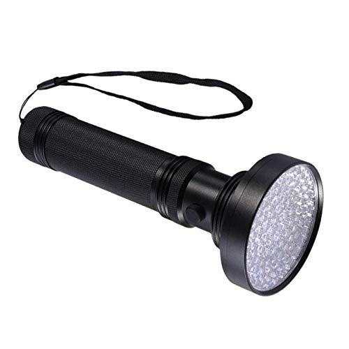 UV Torcia Elettrica Luce Nera, per Vansky 100 LED Blacklight Rivelatore di Animale Domestico per il Cane/Gatto di, asciutto Macchie, Letto Bug