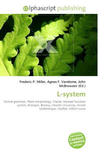 L-system: Formal grammar, Plant morphology, Fractal, Iterated function system, Biologist, Botany, Utrecht University, Aristid Lindenmayer, Graftal, Hilbert curve
