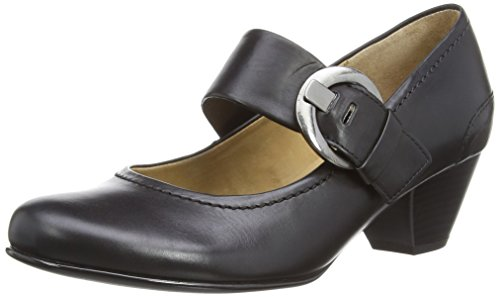 Gabor Shoes Damen Gabor Basic Pumps, Schwarz (schwarz 27), 38.5 EU