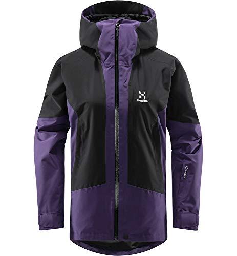 Haglöfs Lumi, Giacche Donna, Viola/Nero (Purple Rain/True Black), XL