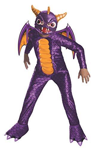 Rubie's-déguisement officiel - Skylanders - Déguisement Costume Spyro Skylanders -Taille L 8-10 ans- I-881632L
