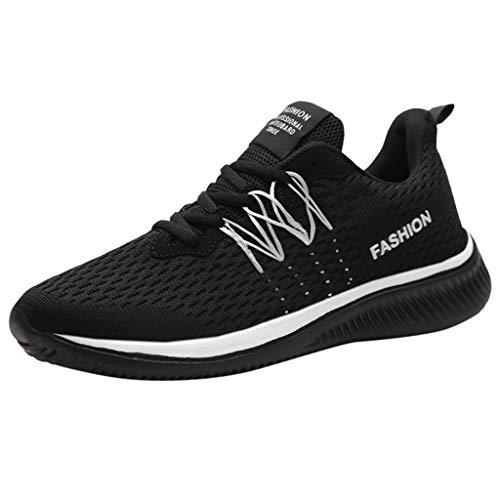OPAKY Zapatillas Deportivas para Hombre Transpirable Sandalias Deportivas Aire Libre y Deporte Sandalias Hombre Verano Los Zapatillas de Senderismo