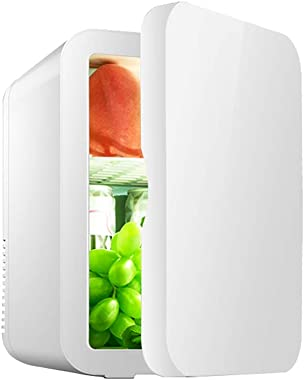 8L Low Power Car Refrigerator Car Home Dual Use Student Dormitory Cosmetics Mini Fridge (Only Refrigerated Function)