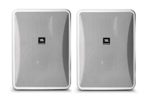 JBL Professional Control 28-1-WH High Output Indoor/Outdoor Background/Foreground Speaker, White