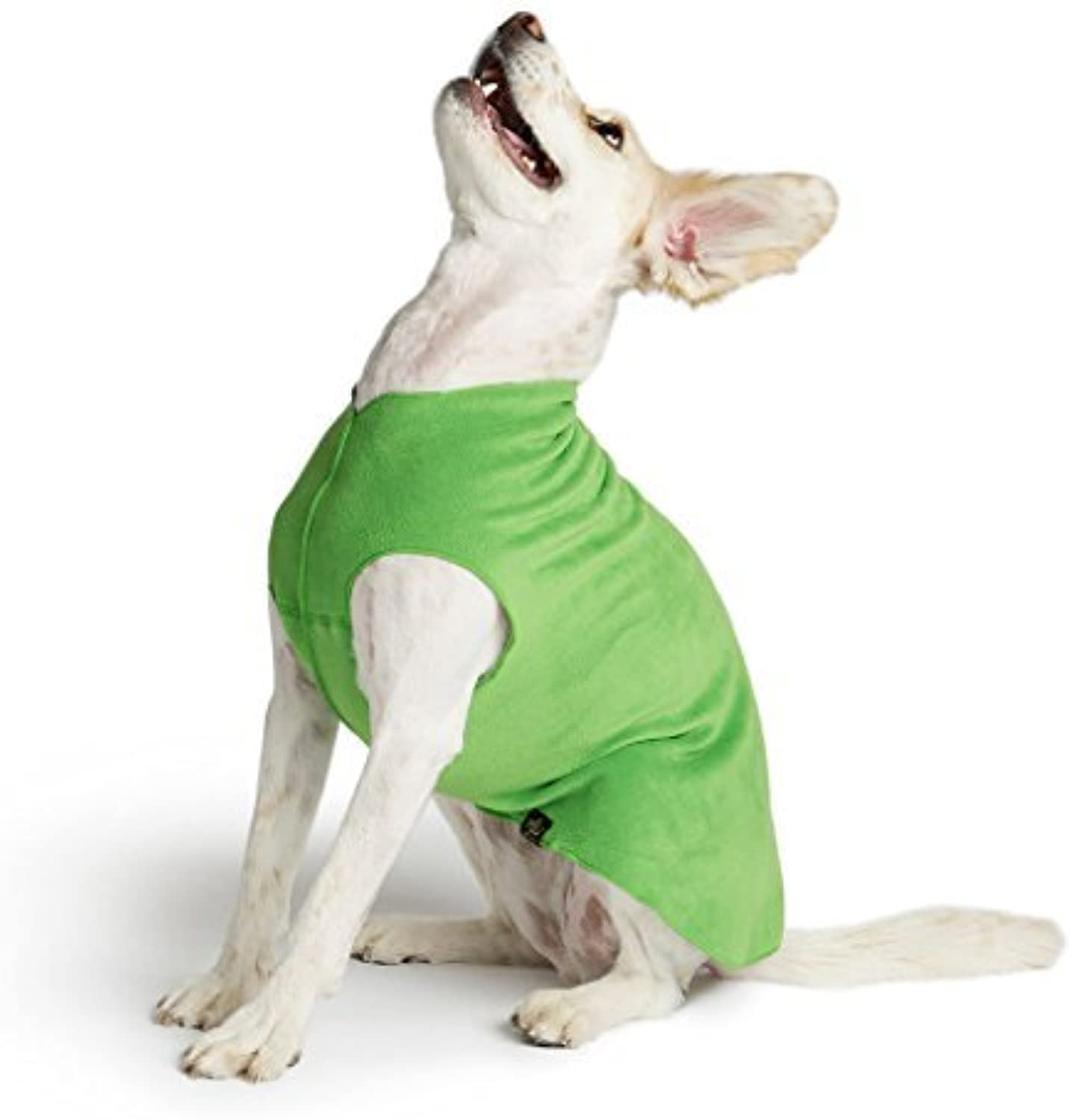 gold Paw Stretch Fleece Dog Coat  Grass Green Size 16 by gold Paw Series