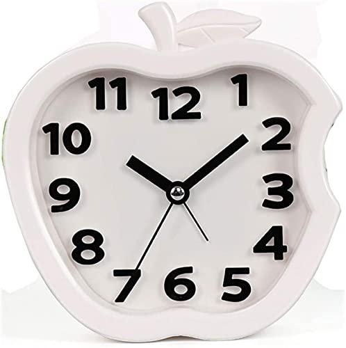 Estilo bonito Despertador silencioso Simples Sonolento Preguiçoso Cama bonita e moderna Moda Personalidade criativa Casa 4 cores opcional 14,5 cm * 4,5 cm * 14,5 cm