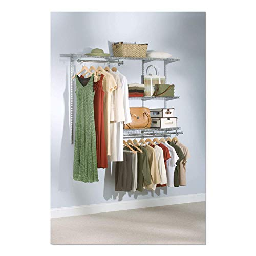 Product Image of the Rubbermaid Configurations Closet Kits, 3-6 ft., Titanium