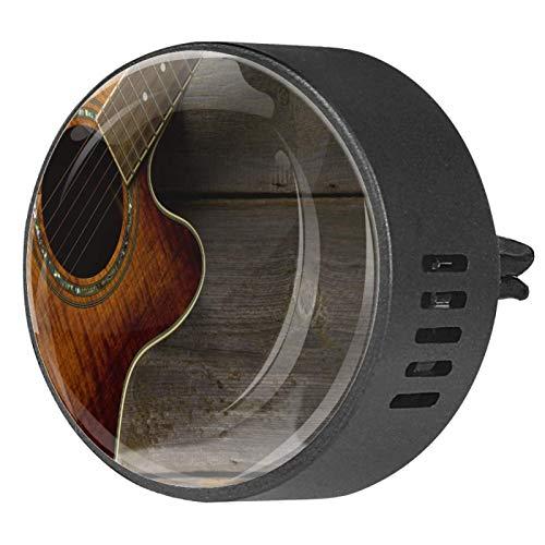 CHINFY 2 unids guitarra acústica en madera aromaterapia difusor coche...