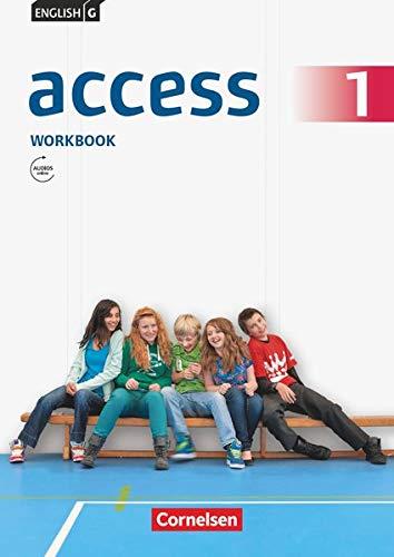 English G Access Workbook, Teil 1 (Workbook mit Audios online): Workbook mit Audios online und MyBook (English G Access: Allgemeine Ausgabe)