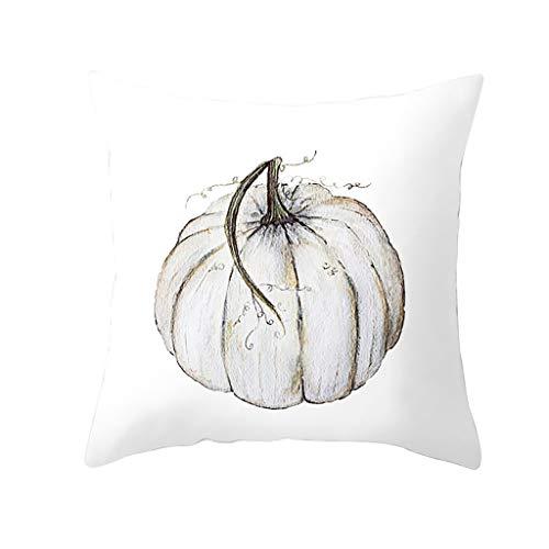 Myspace 2019 Neueste Dekoration für Halloween Herbst Kürbis Kissenbezug Taille Throw Kissenbezug Sofa Home Decor