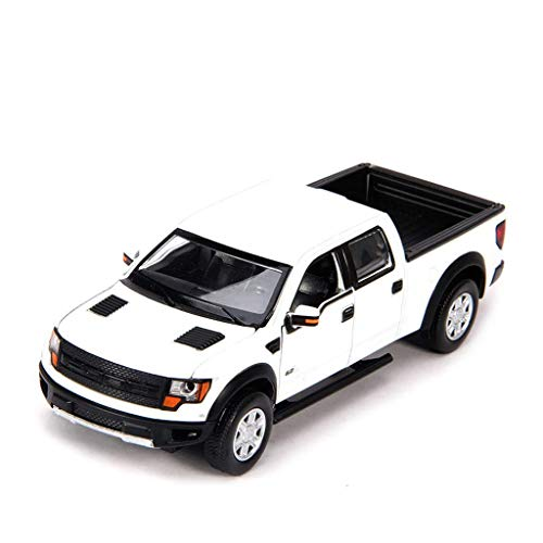 ZY Coche Modelo de Coche 1:32 Ford F150 Pickup Juguete adorna la...