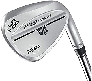 Wilson Staff FG Tour PMP Tour Frosted Wedge Lob LW 9 Deg Bounce FST KBS Hi-Rev 2.0 Steel Stiff Right Handed 35.5in