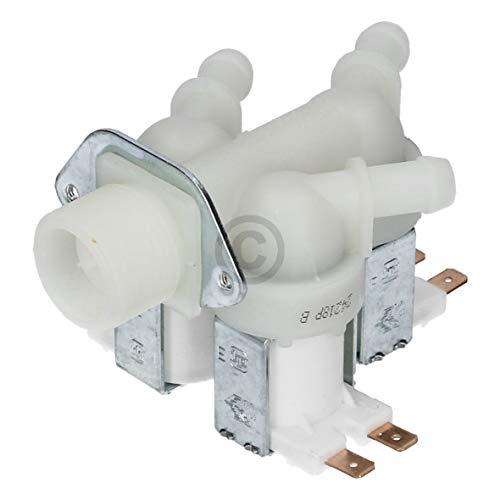 Universal Magnetventil Reduzierung Wasserüberlaufschutz Überlaufschutz 180 Grad 10,5mm dreifach Waschmaschine