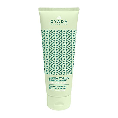 Gyada Cosmetics CREMA STYLING RINFORZANTE CON SPIRULINA  CERTIFICATO BIO  MADE IN ITALY  125 ml