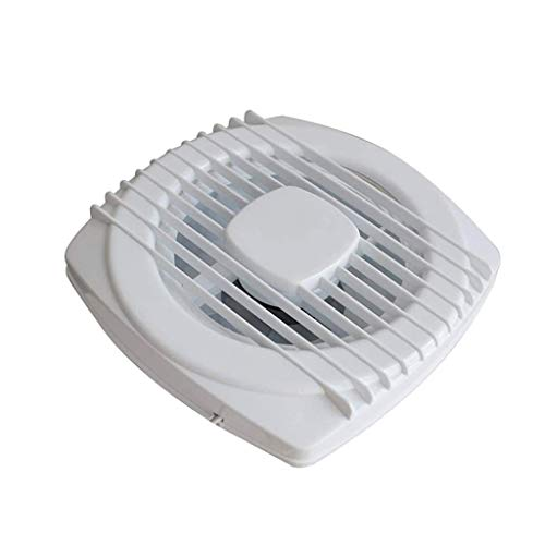 WYBFZTT-188 Cable Exhaust Fan,Vent Fan for Home Attic, Shed, or Garage 4 Inches 150 * 150mm Glass Ventilator