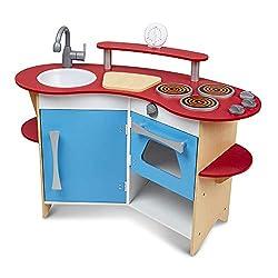 Wooden Toy Kitchen Appliances