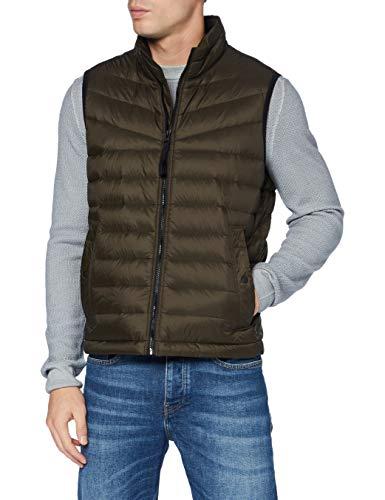 BOSS Mens Olmeev1 Jacket, Beige/Khaki (250), 54